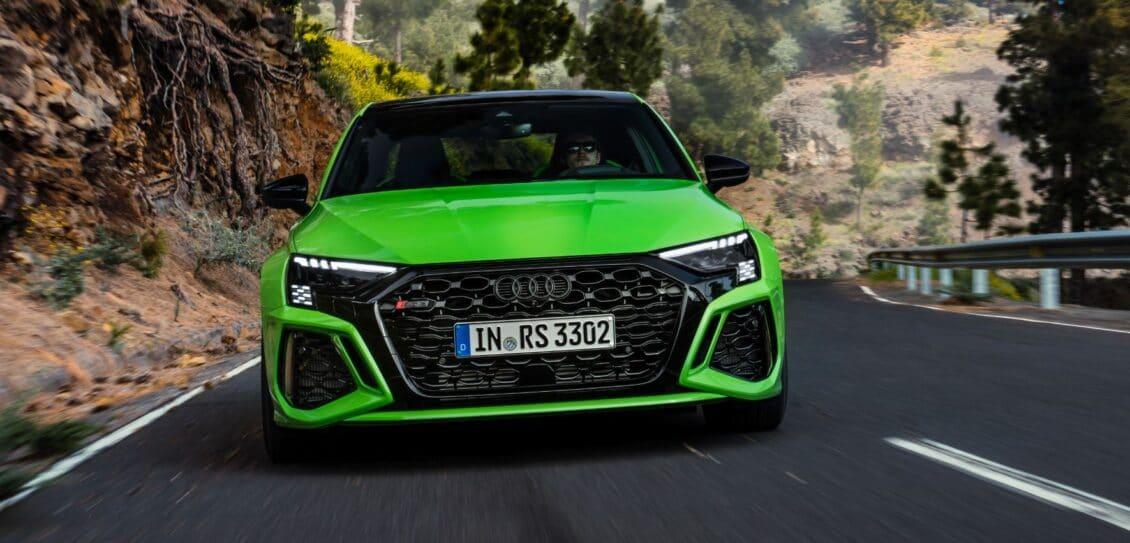 ¡Oficial!, el Audi RS 3 llega con un diseño musculoso, 400 CV y una punta de 290 km/h