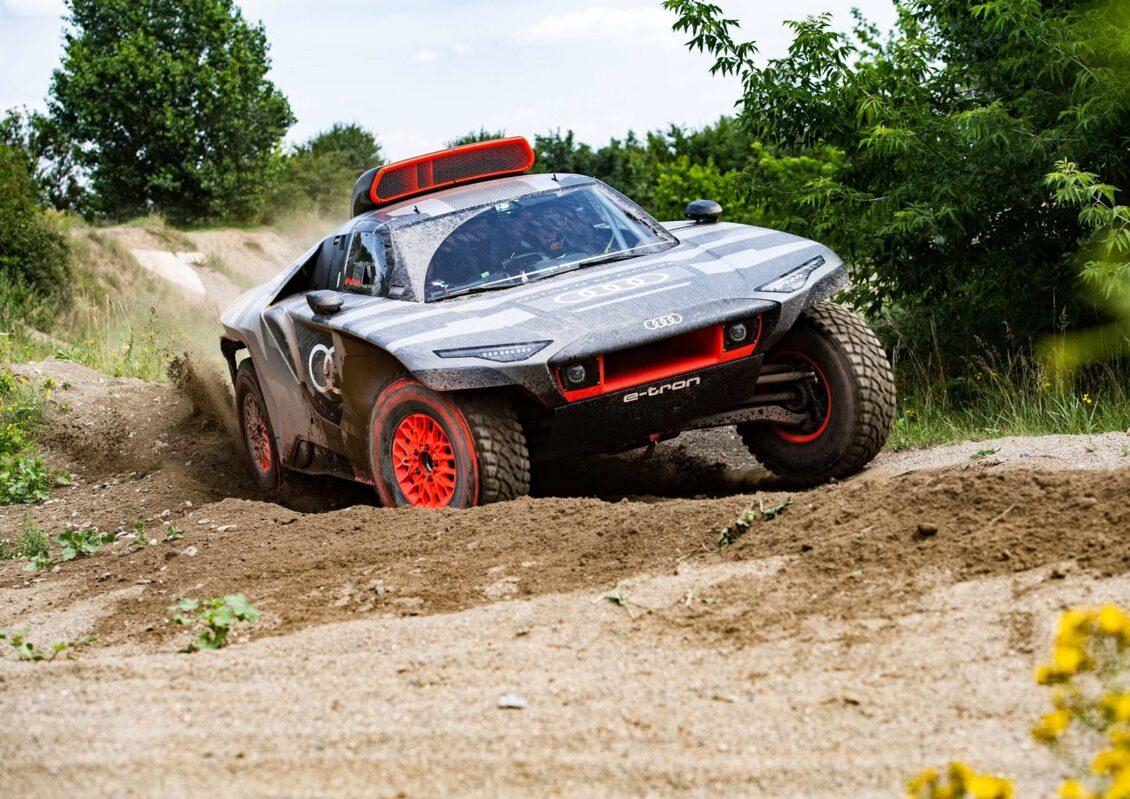 El Audi eléctrico que competirá en el Dakar tendrá 680 CV y se recargará gracias al motor TFSI del DTM