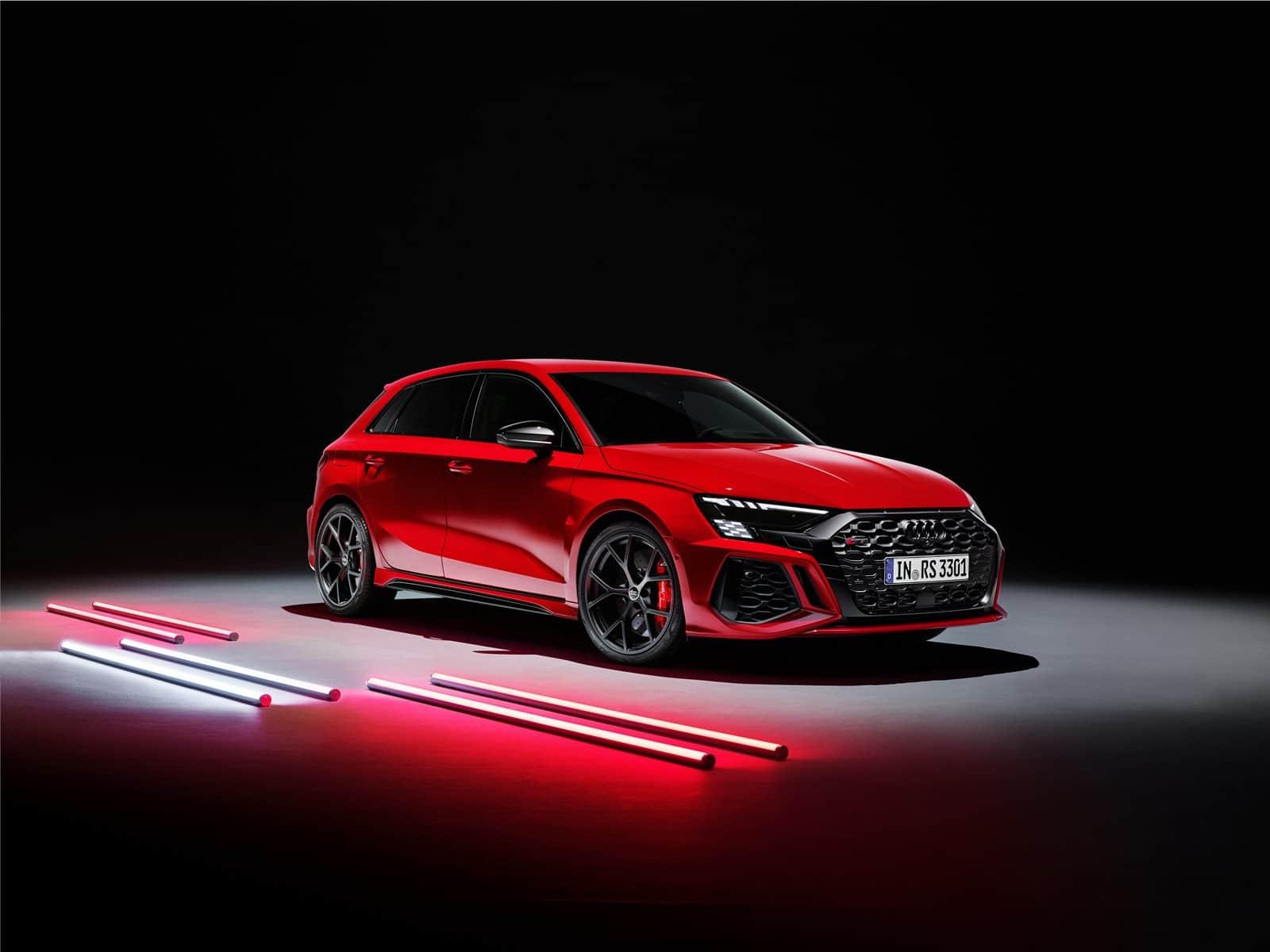 Precio Audi RS 3 Sportback rojo