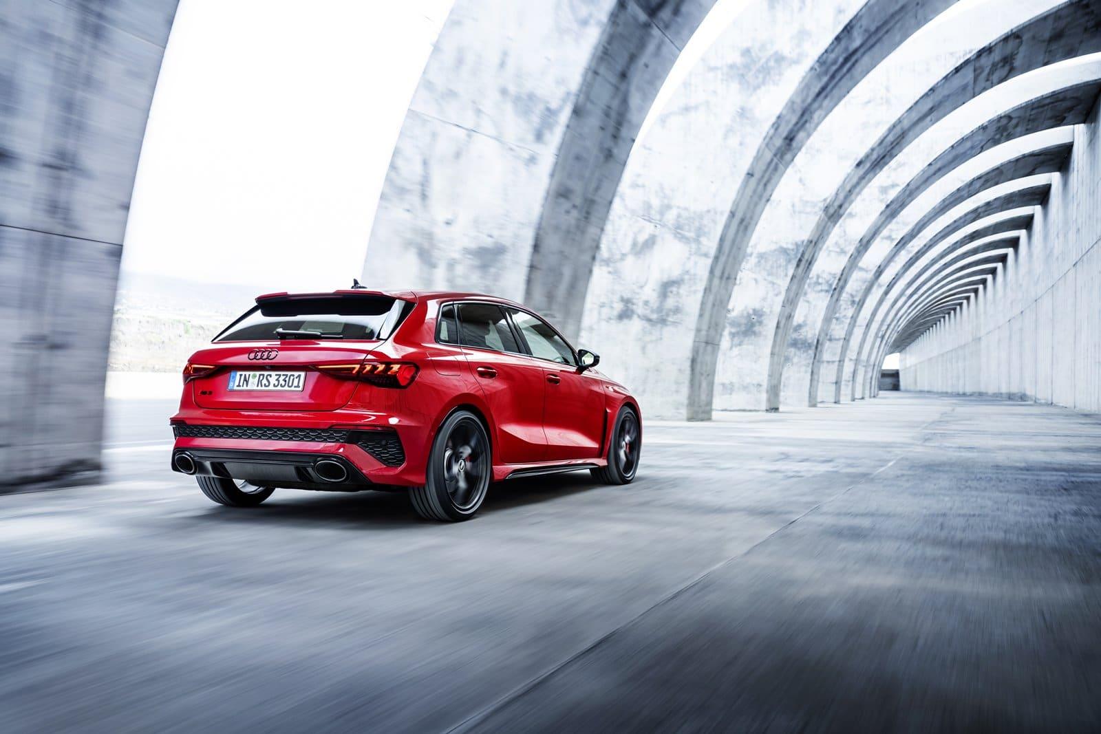 nuevo Audi RS 3 Sportback trasera
