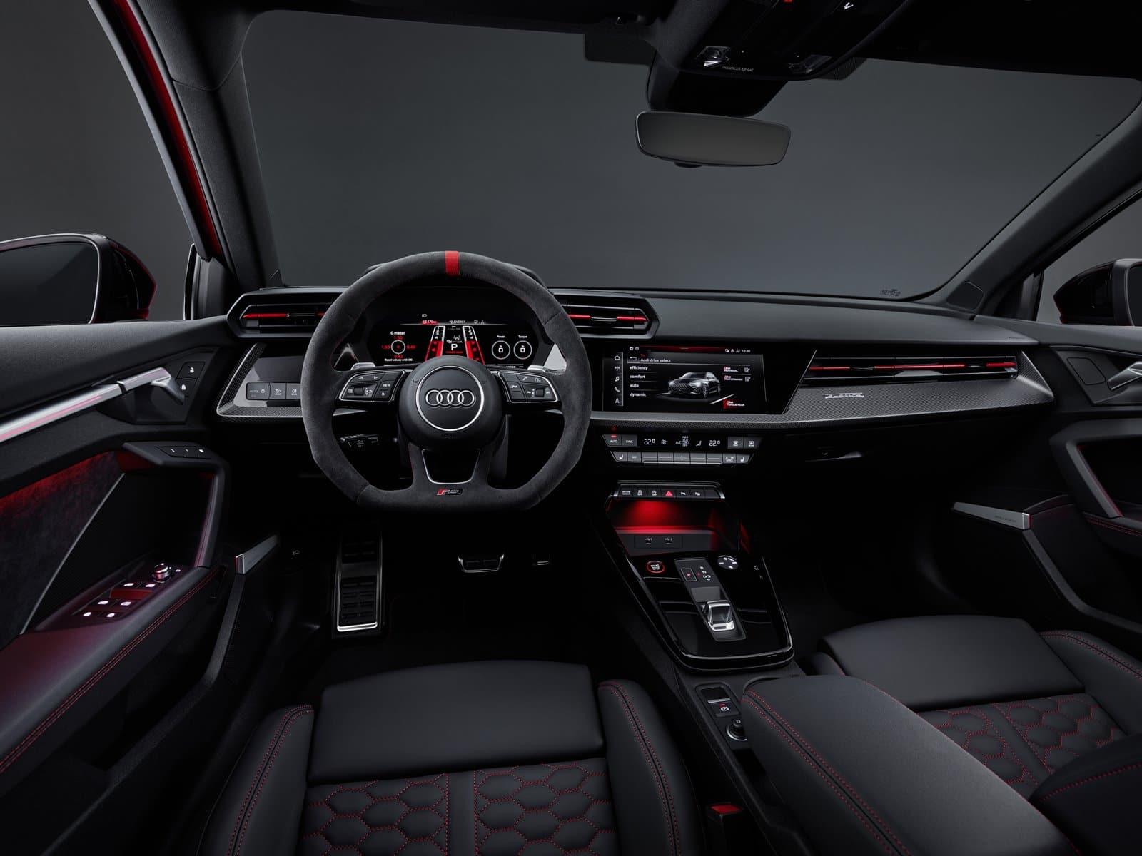 nuevo Audi RS 3 interior
