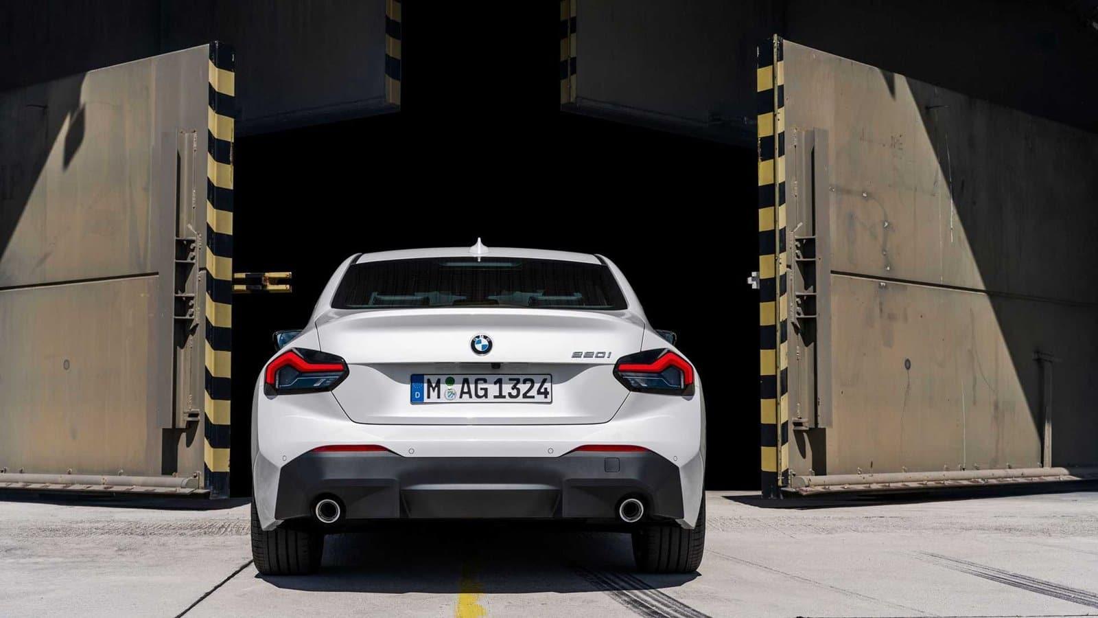 Trasera BMW Serie 2 Coupé