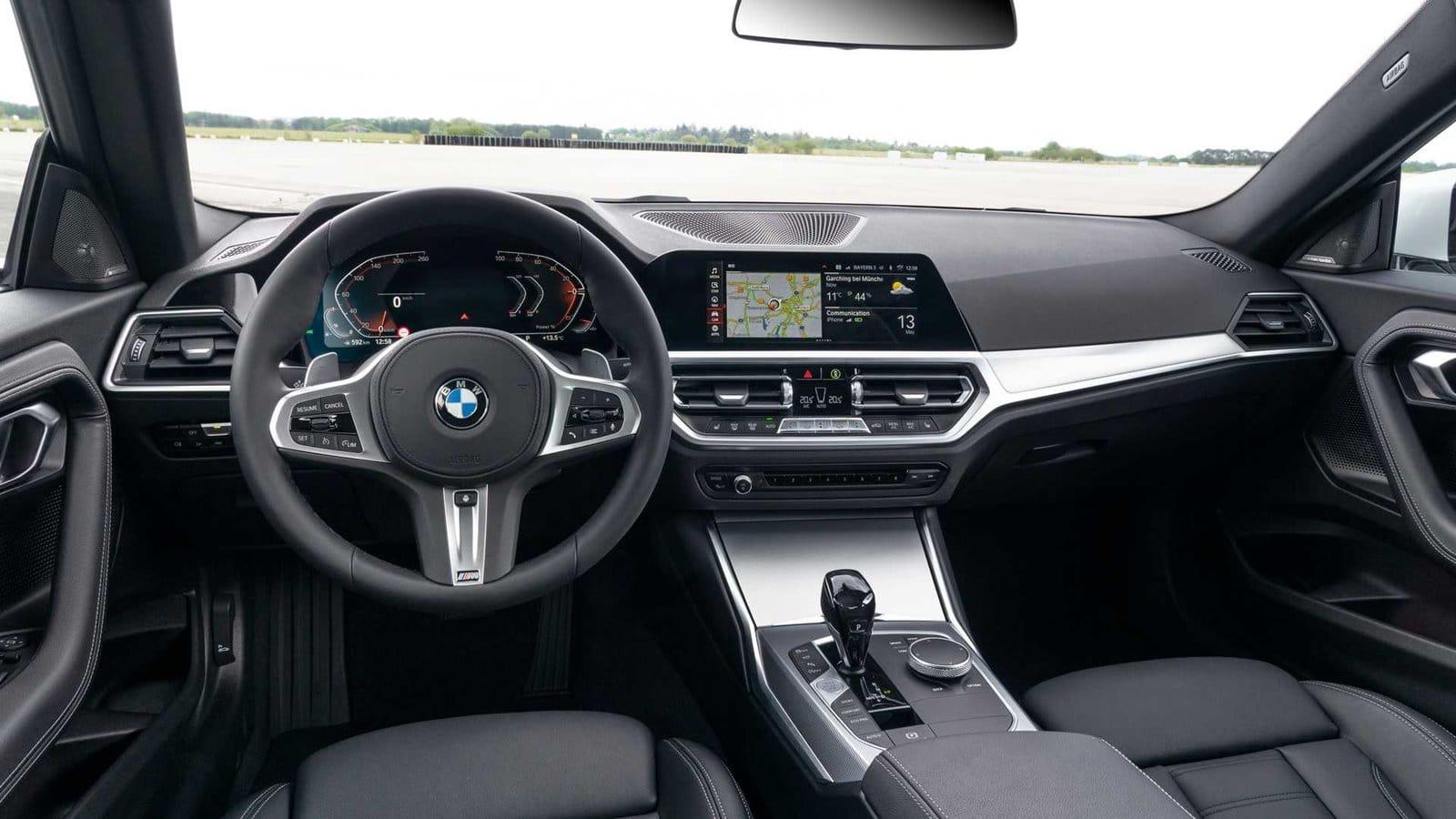 Interior BMW Serie 2 Coupé