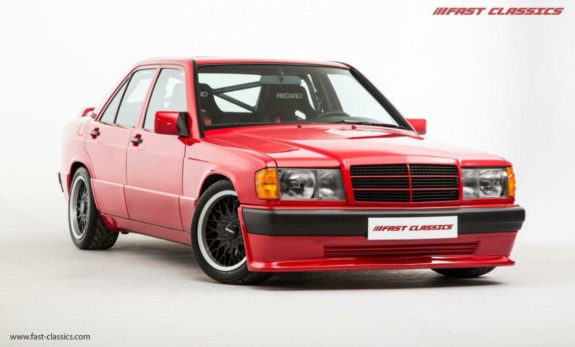¡Joya a la venta! Te gustaría tener este BRABUS 190E 3.6S Lightweight en tu garaje