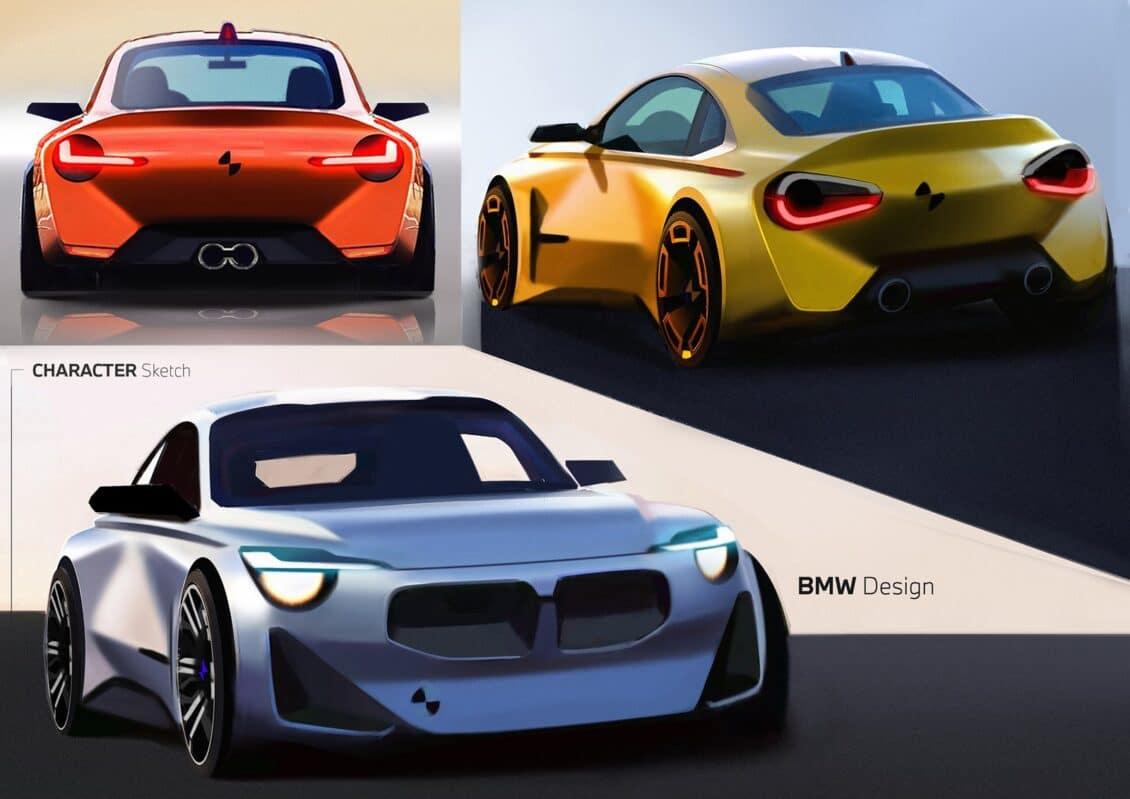 Así podría haber sido el nuevo BMW Serie 2…