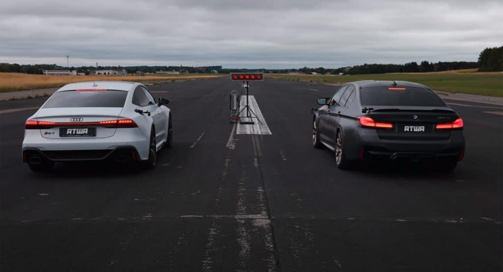 Y tú, ¿eres de BMW M5 CS o de Audi RS 7 Sportback?