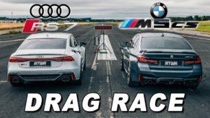 [Vídeo] BMW M5 CS vs. Audi RS 7 Sportback: ¿Por qué alemán apuestas?