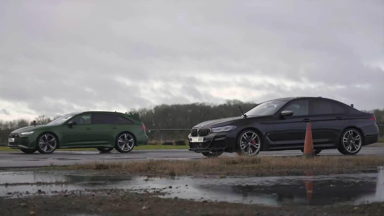 El Audi RS 6 Avant se enfrenta al BMW M550i xDrive