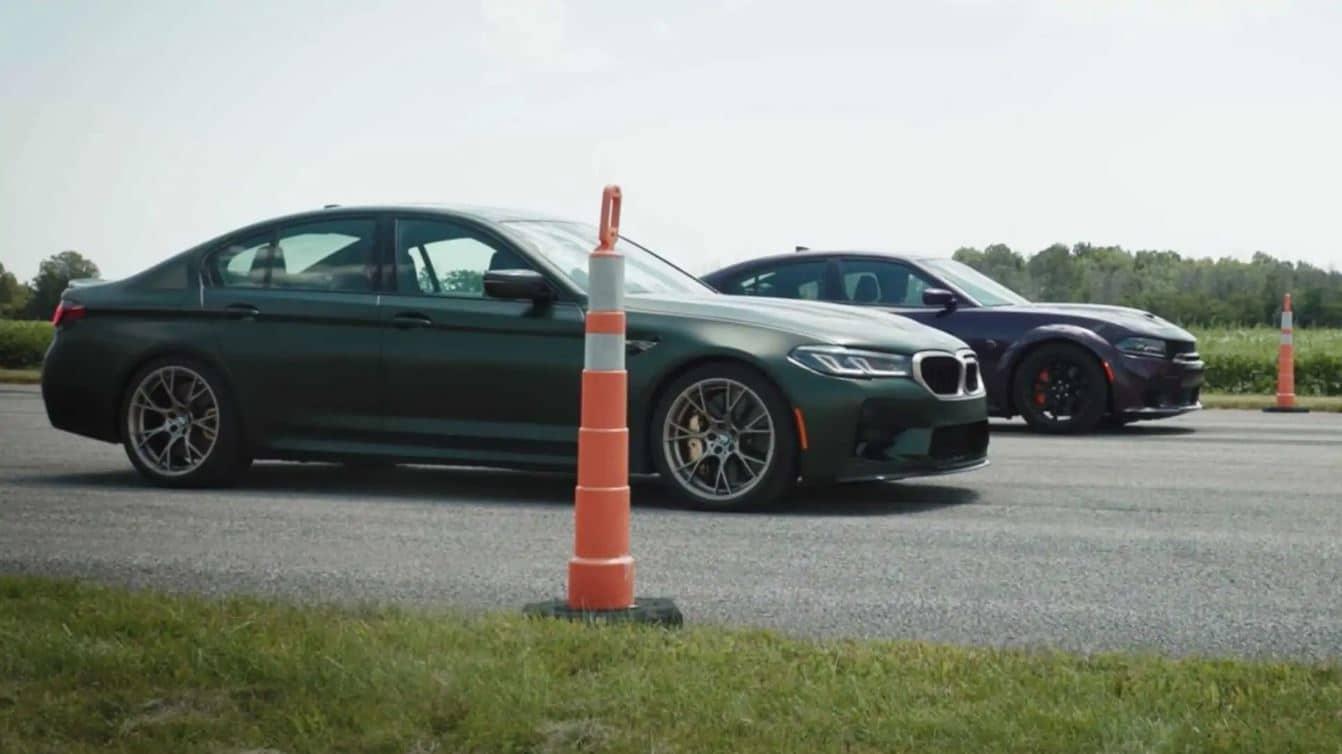 ¿Puede el BMW M5 CS contra un americano?