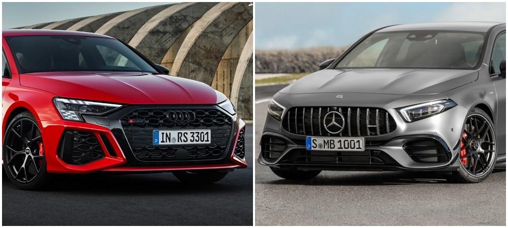 Comparativa: ¿Te quedas con el nuevo Audi RS 3 o con el Mercedes-AMG A 45 S?