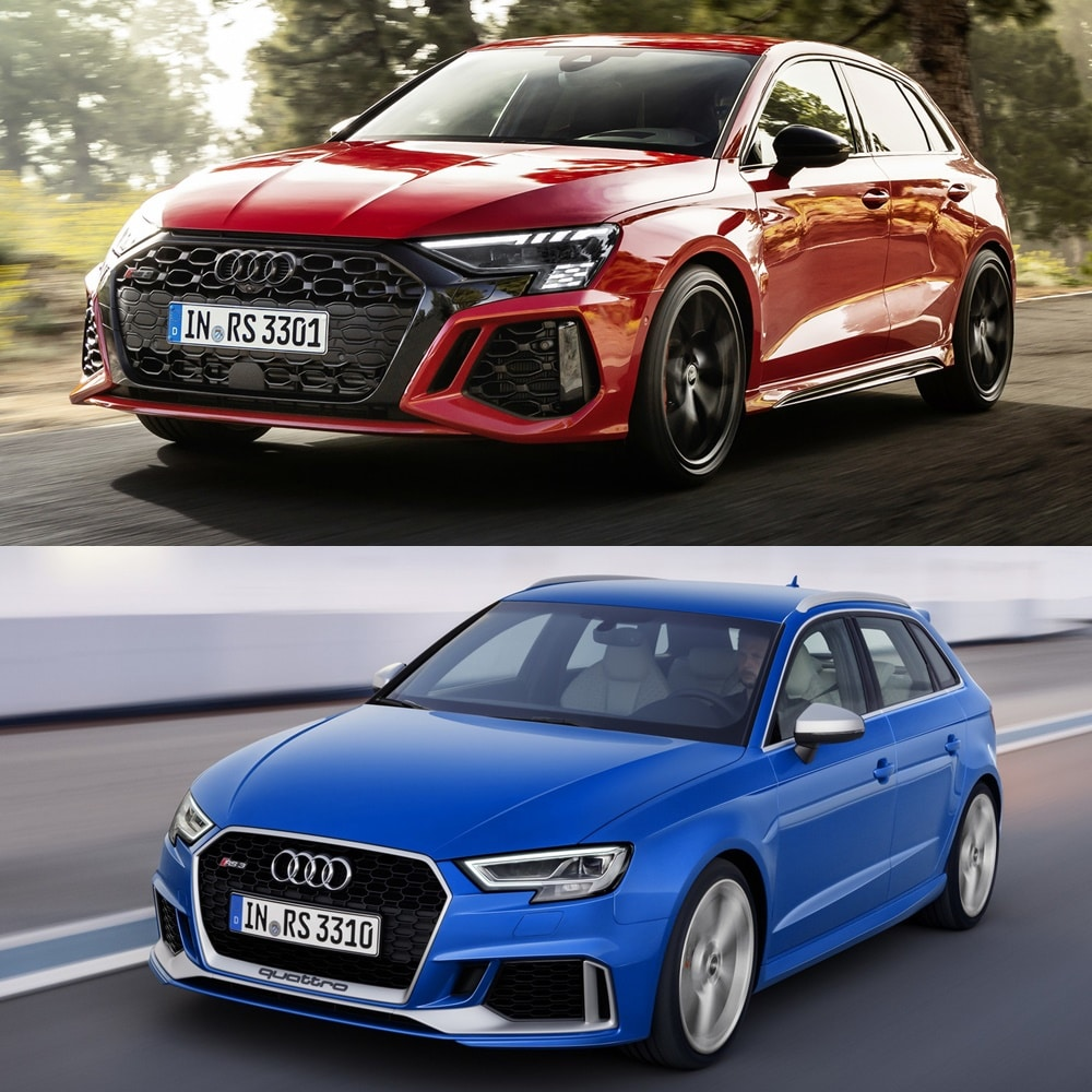 Juzga tú mismo qué te parecen los cambios en el Audi RS 3 2021