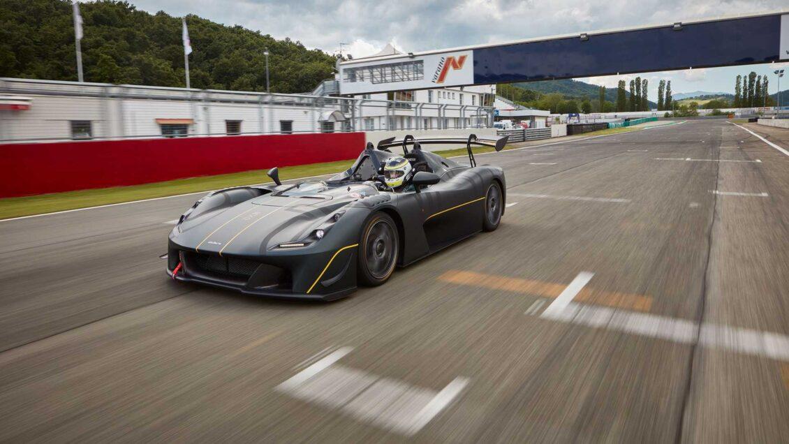 Dallara EXP: la versión de circuito es aún más radical y solo pesa 890 kg