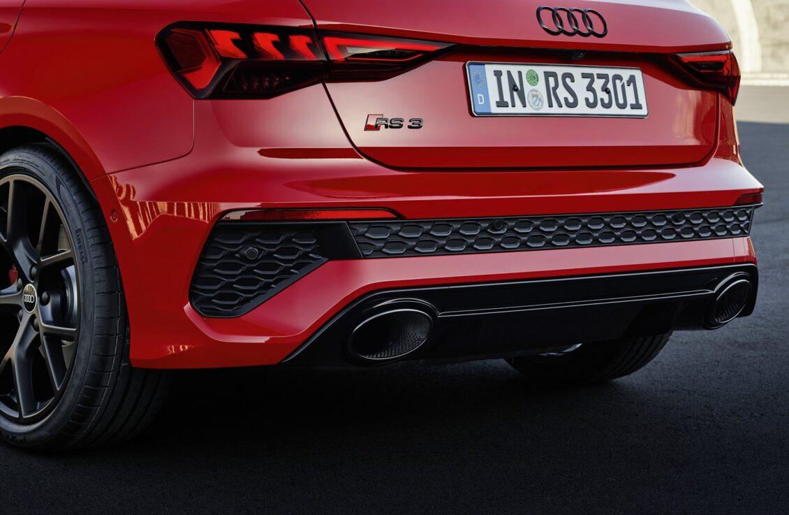 Así suena el cinco cilindros de 400 CV del nuevo Audi RS 3 Sportback: disfrútalo en acción