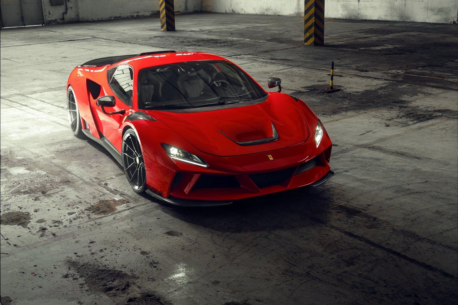 Mejoras estéticas para el Ferrari F8 N-Largo