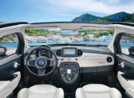 El Fiat 500X Yatching recurre a una capota de lona