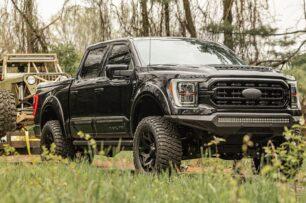 El Ford F-150 Black Ops solo recibe cambios estéticos