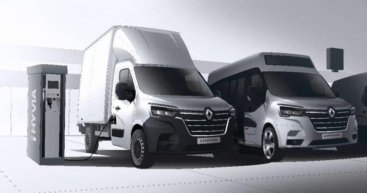 pila de combustible de hidrógeno de Renault
