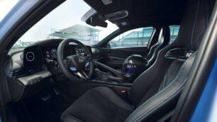 Interior del Hyundai Elantra N