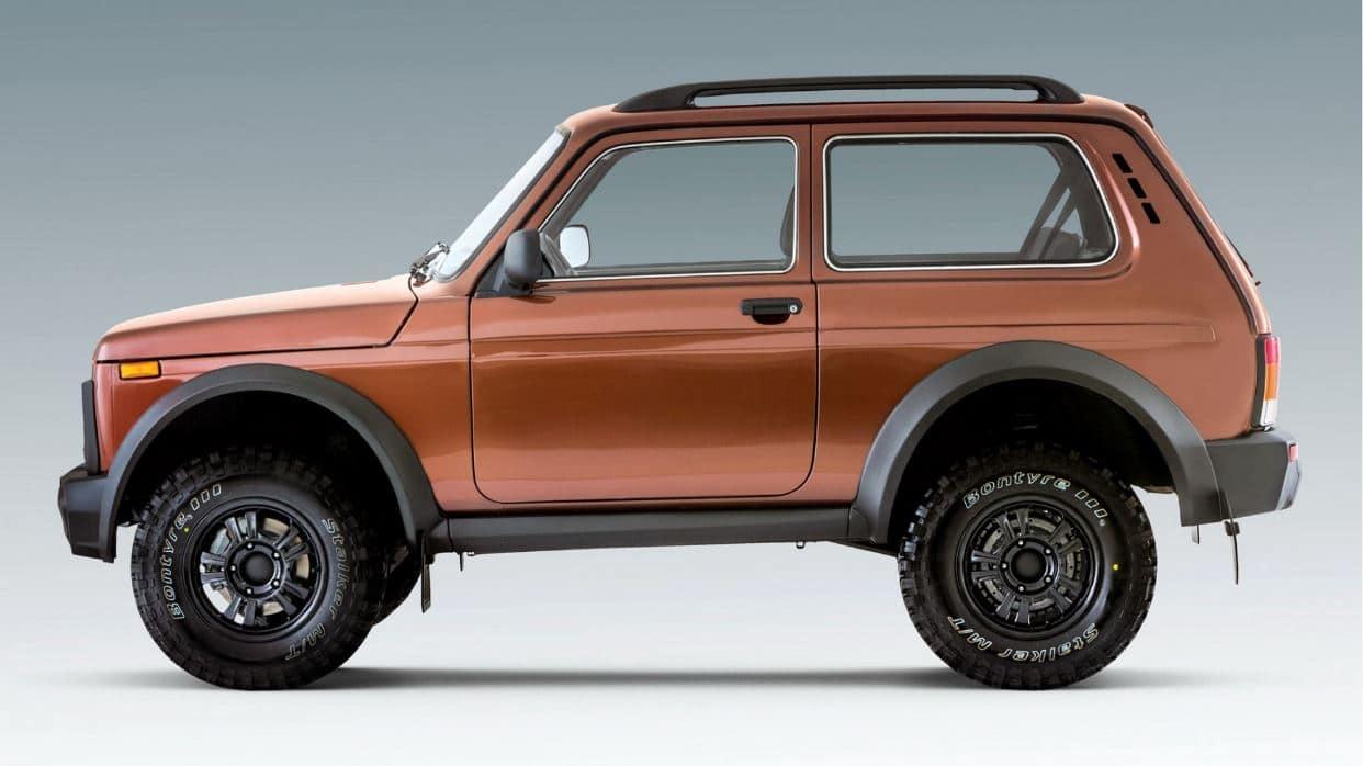 El Lada Niva Bronto 2021 tiene pocos cambios exteriores