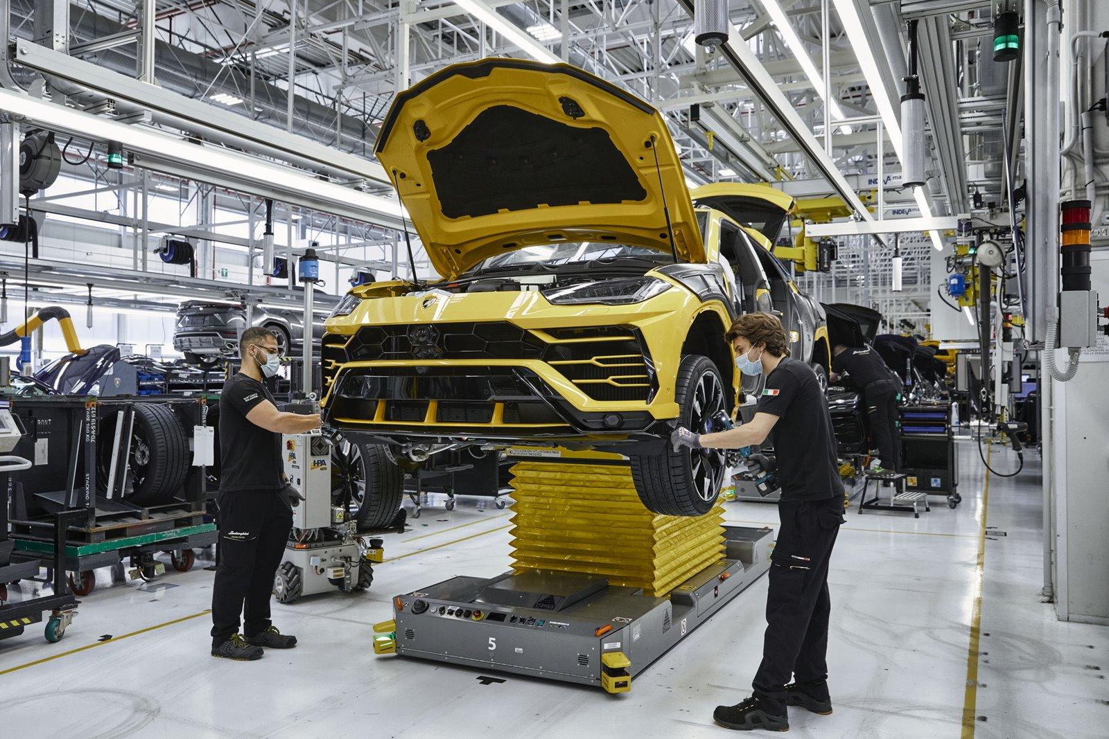15.000 Lamborghini Urus es un éxito sin precedentes