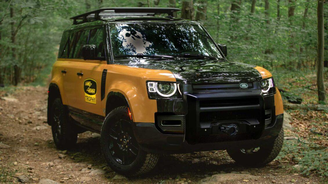 Land Rover Defender Trophy Edition: un homenaje encubierto a los viejos tiempos