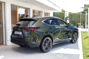 Los cambios más profundos del Lexus NX 2021 se han llevado a cabo en la zaga