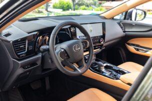 El interior del Lexus NX 2021 ha sufrido una auténtica revolución