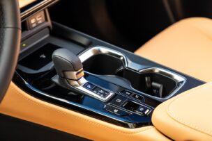 Palanca de cambios del Lexus NX 2021
