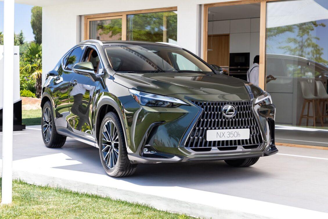 Así luce en directo el Lexus NX 2021: una revolución que respeta el carisma y concepto originales