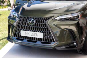 El Lexus NX 2021 cambia notablemente