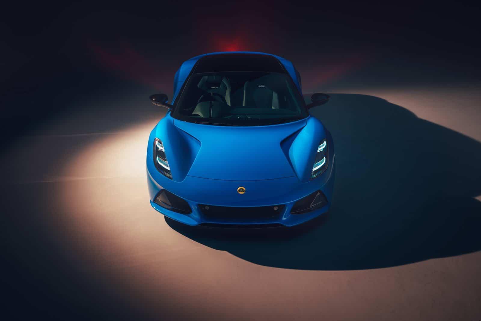Frontal Lotus Emira