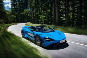 ¡Oficial! McLaren 765LT Spider: mucha fibra y un V8 de 765 CV a cielo abierto
