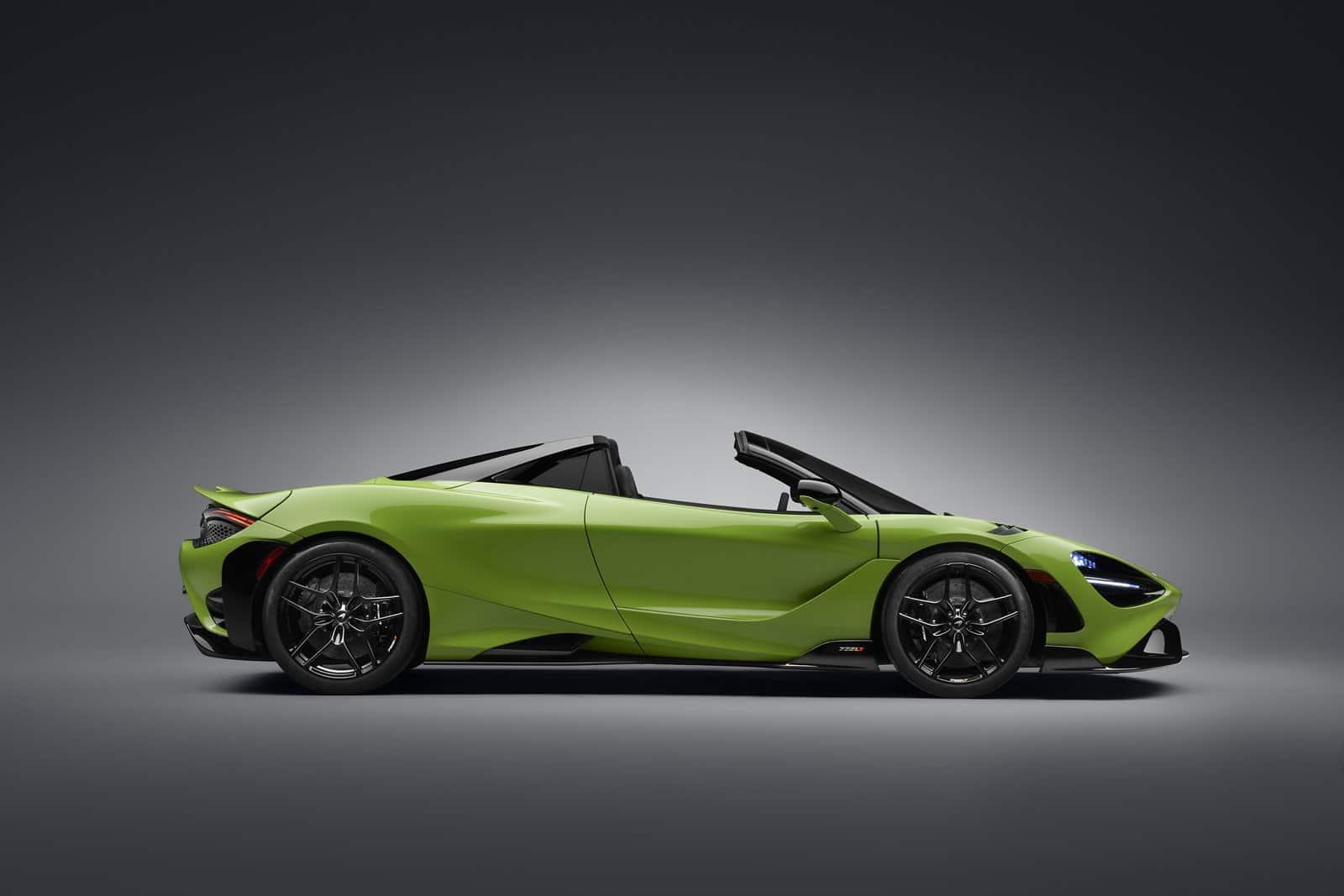 La producción del McLaren 765LT Spider se limitará a 765 unidades