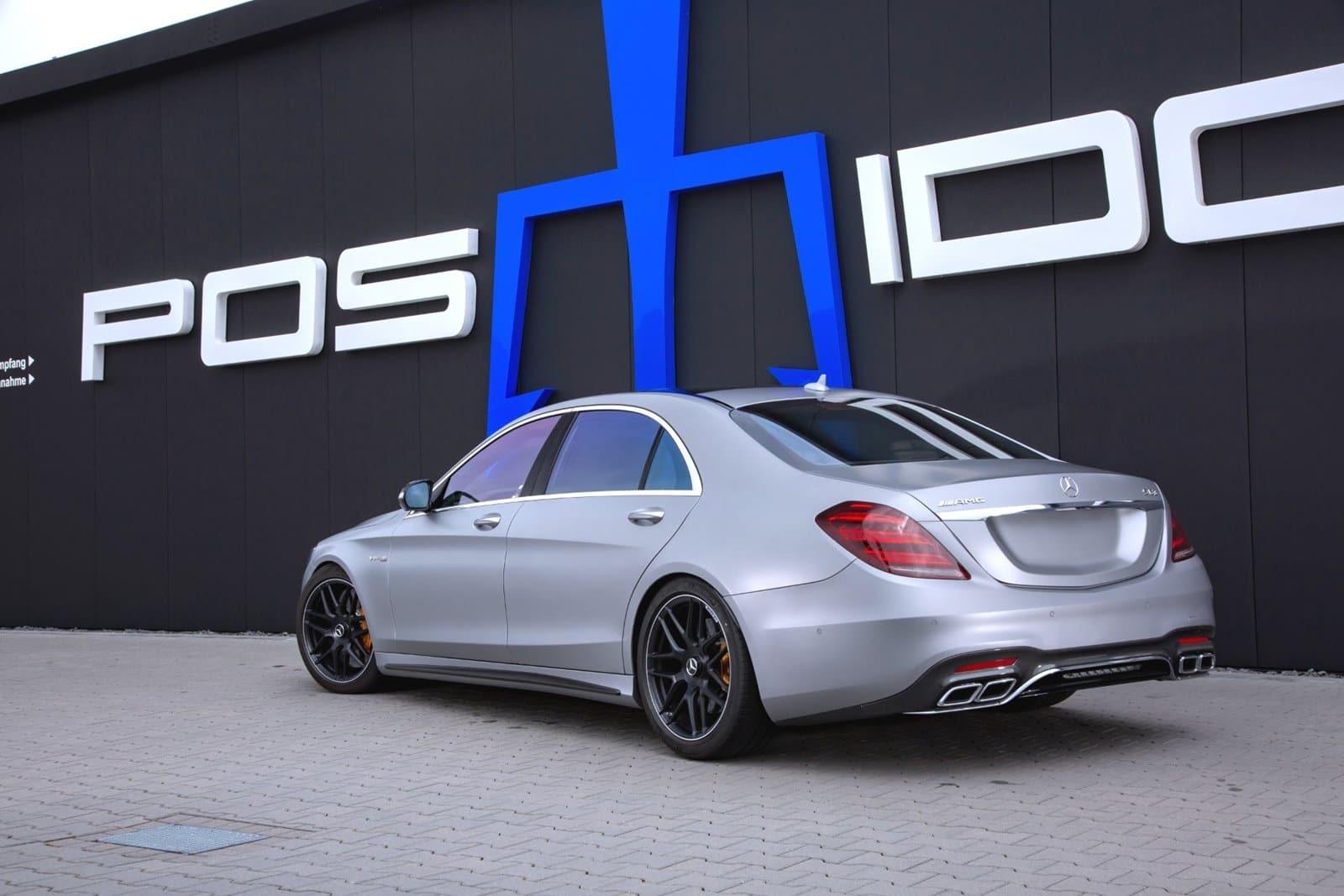 Hasta 940 CV para el Mercedes-AMG S 63 de Posaidon