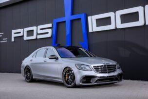 Parece discreto, pero el Mercedes-AMG S 63 de Posaidon tiene un V8 con más de 900 CV