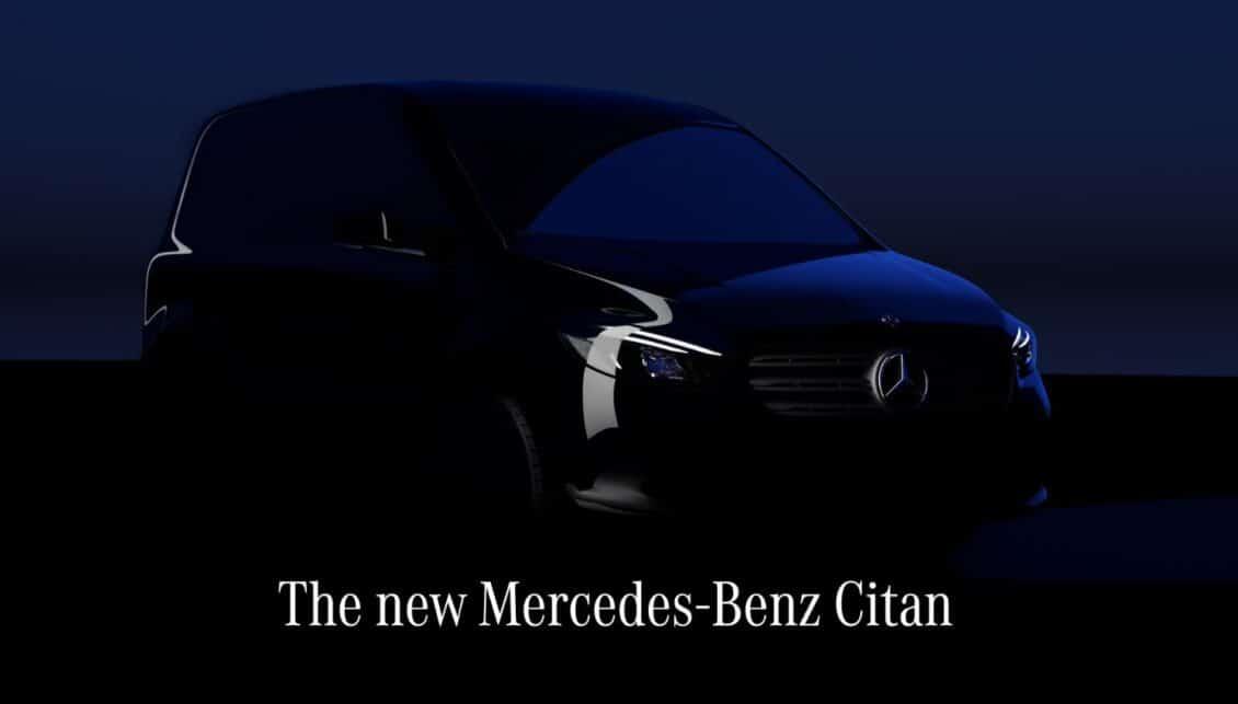 El nuevo Mercedes-Benz Citan debutará en Agosto: esto es lo que sabemos
