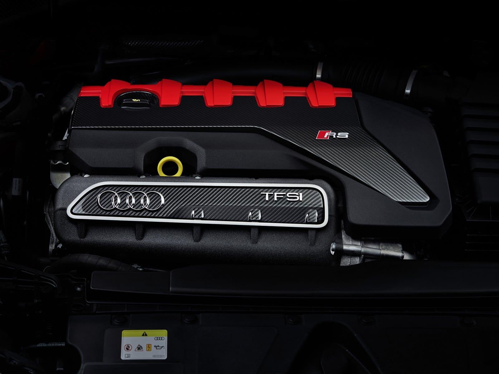 El sonido del Audi RS 3 2021 es sencillamente espectacular