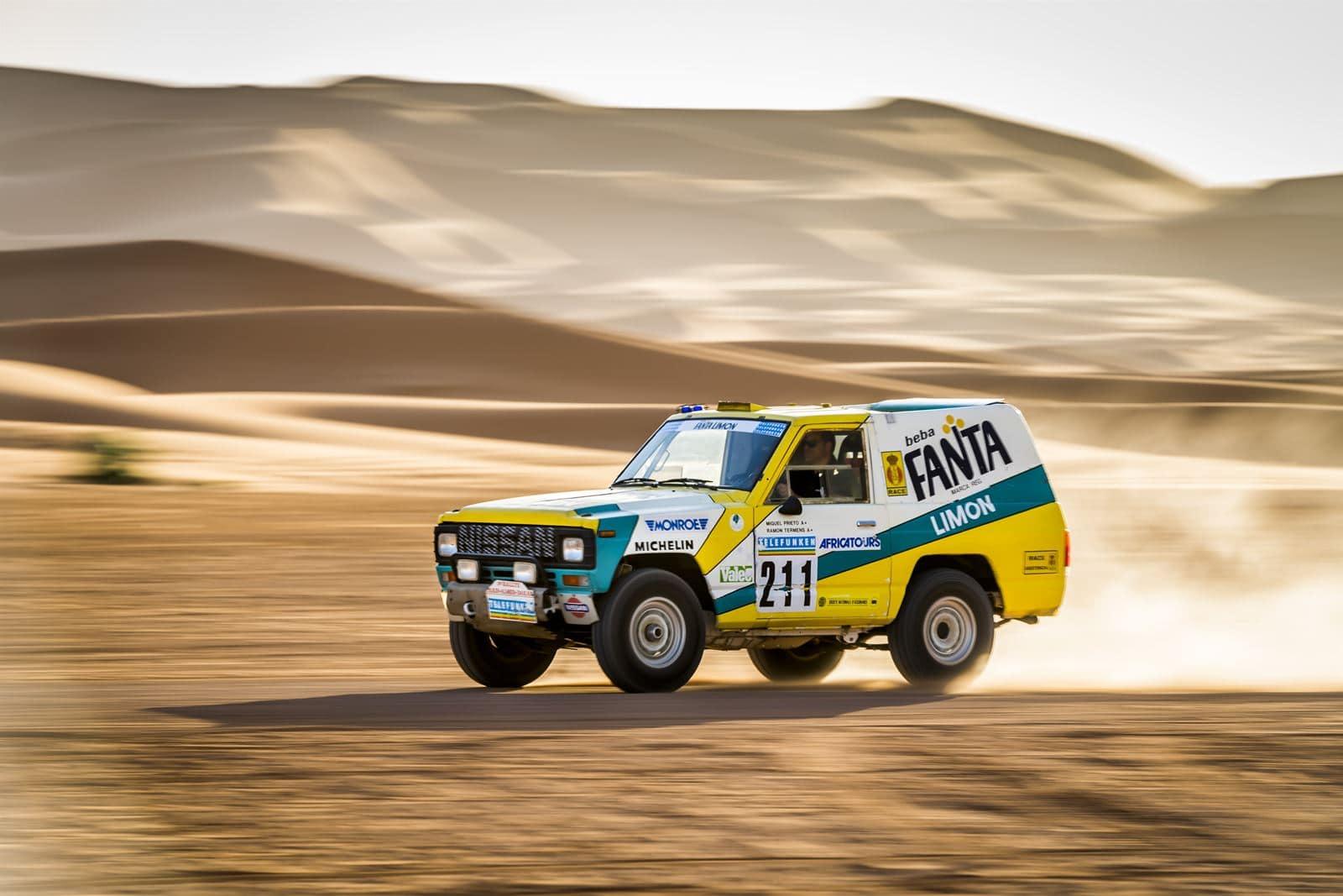 Nissan Patrol Fanta Limón Dakar