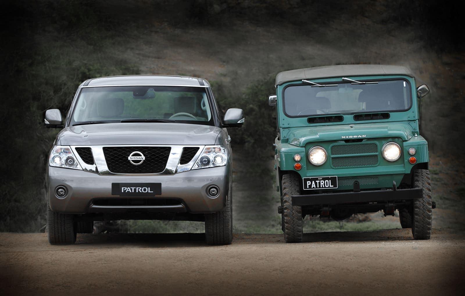 Nissan Patrol Generaciones