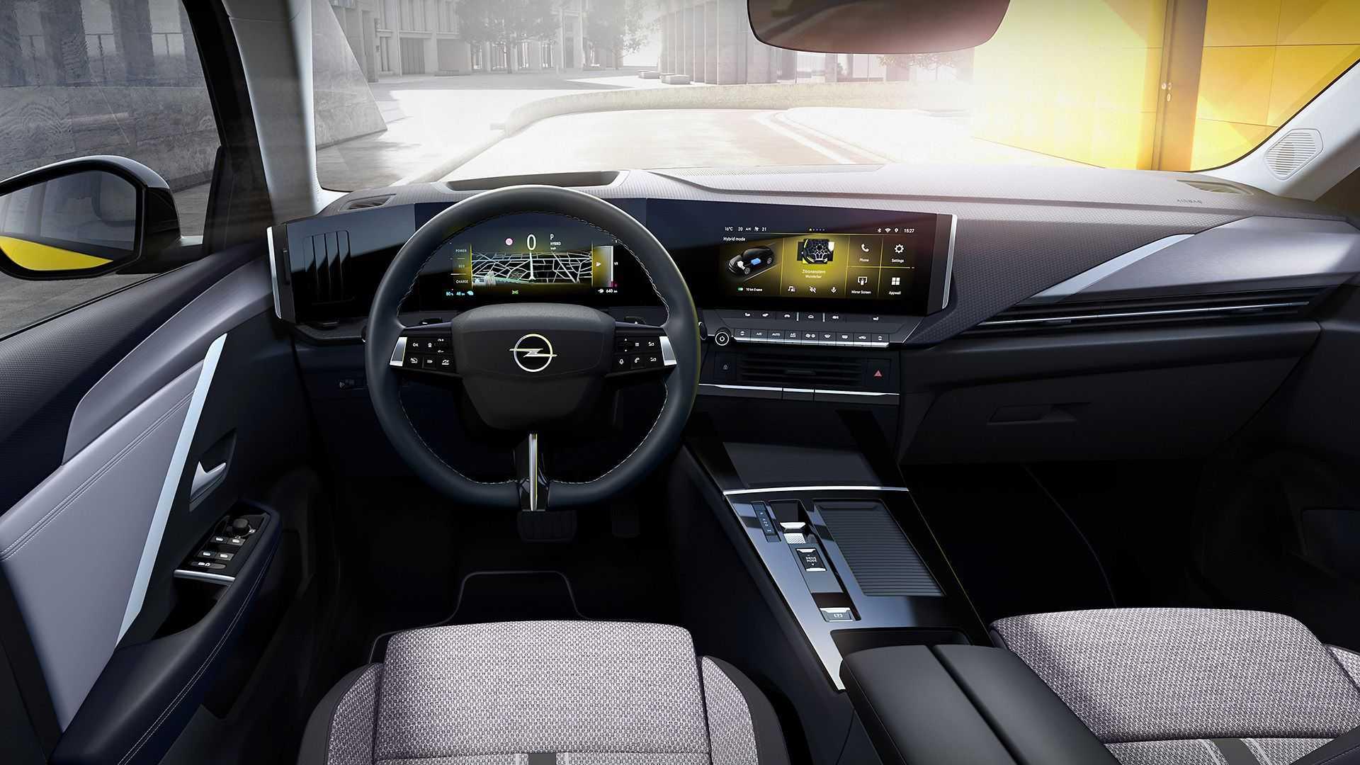 La digitalización toma el interior del Opel Astra 2022