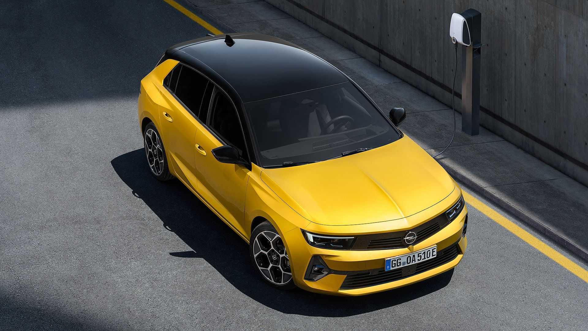 Nuevas mecánicas para el Opel Astra 2022