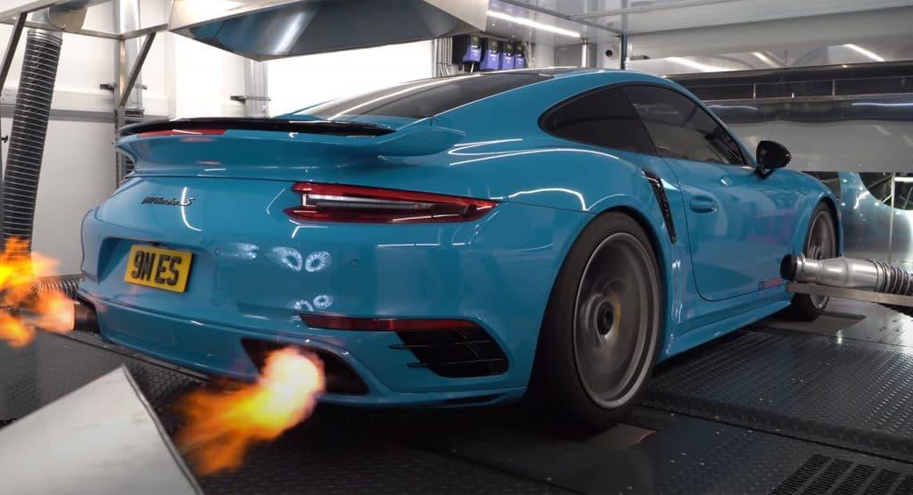 Este brutal Porsche 911 Turbo S puede alcanzar la friolera de 1.600 CV