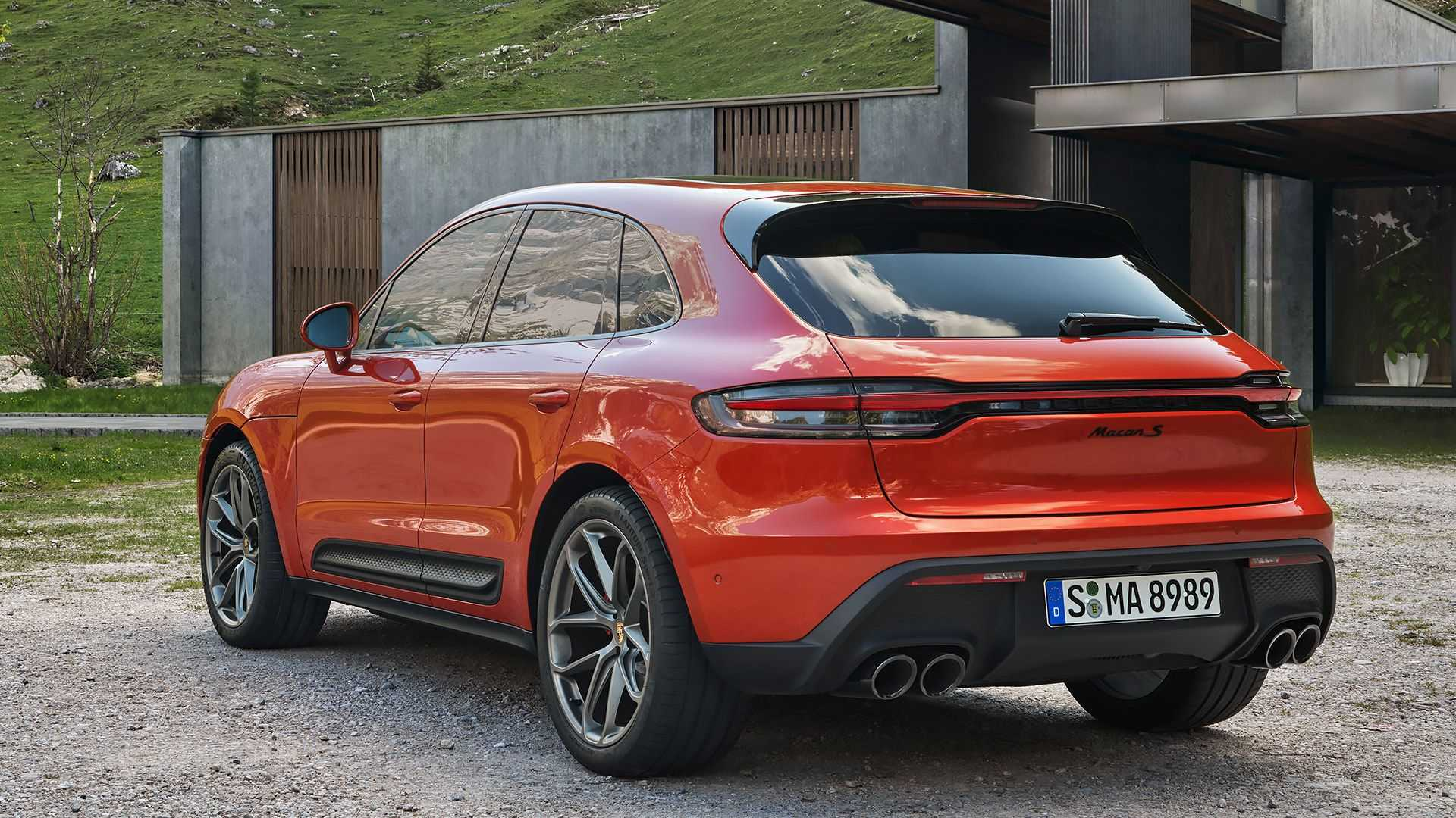 Más potencia para todas las versiones del Porsche Macan 2021