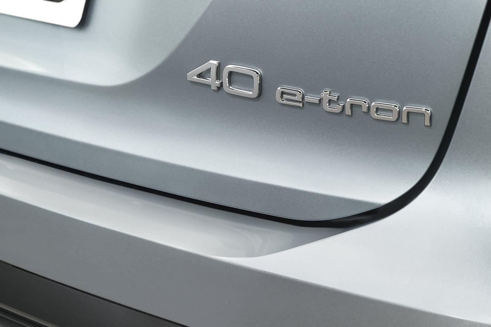 Detalle Audi Q4 40 e-tron