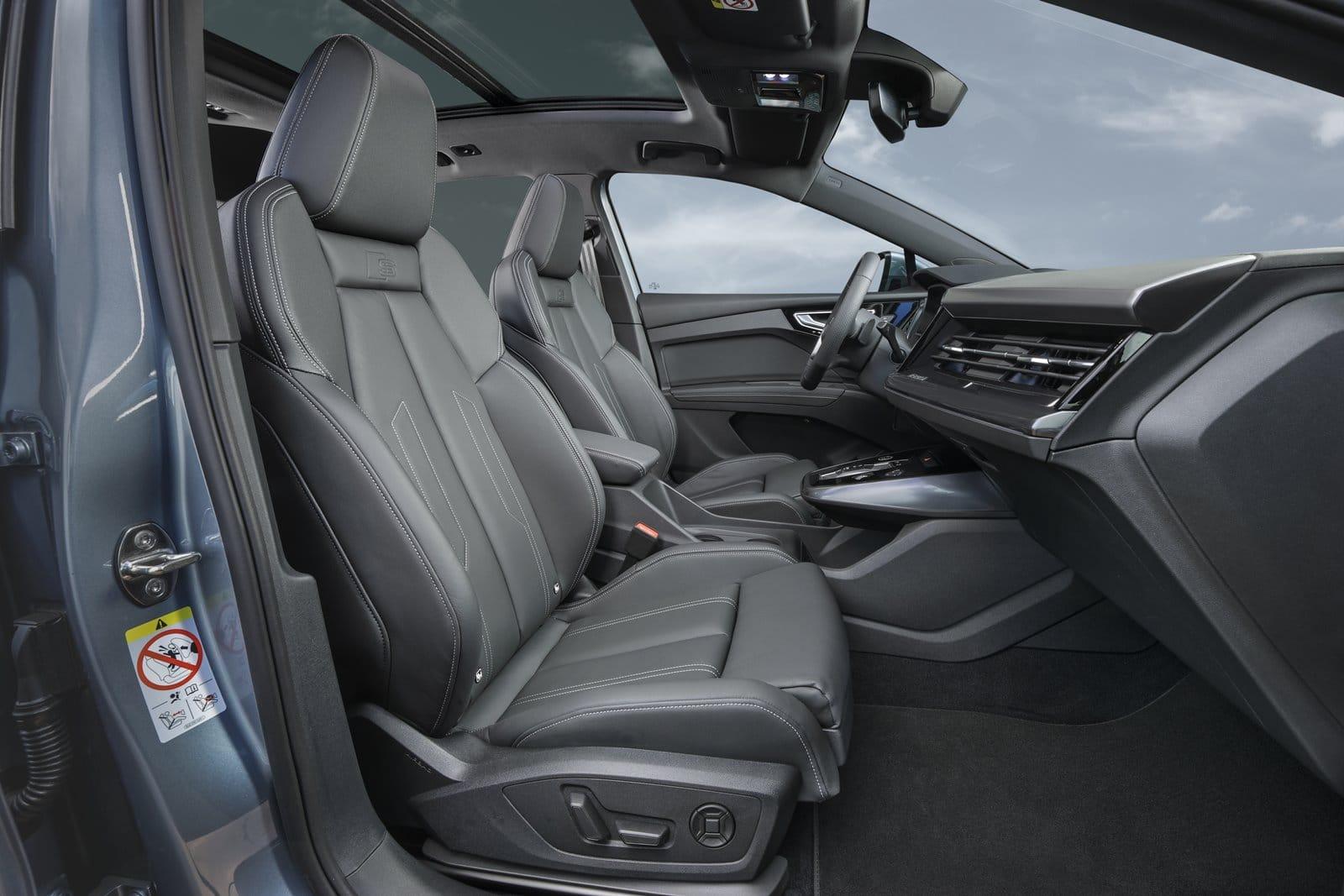 Plazas delanteras Audi Q4 40 e-tron