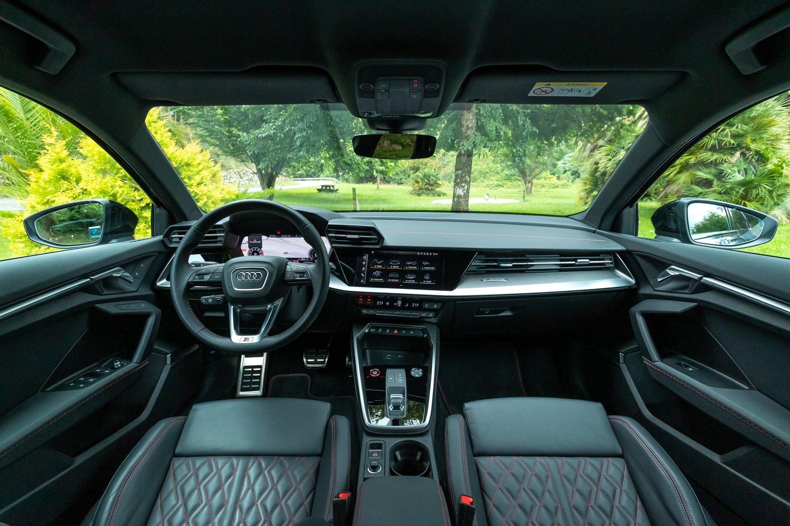 Interior Audi S3 Sportback