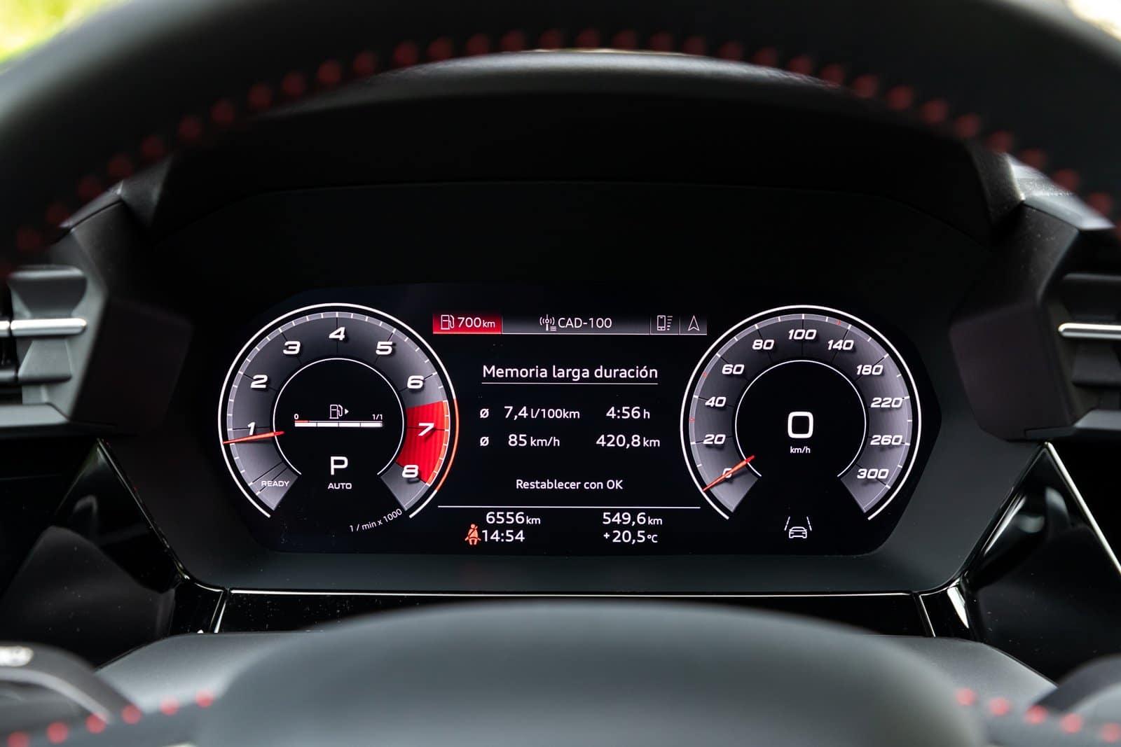 Consumos Audi S3 Sportback