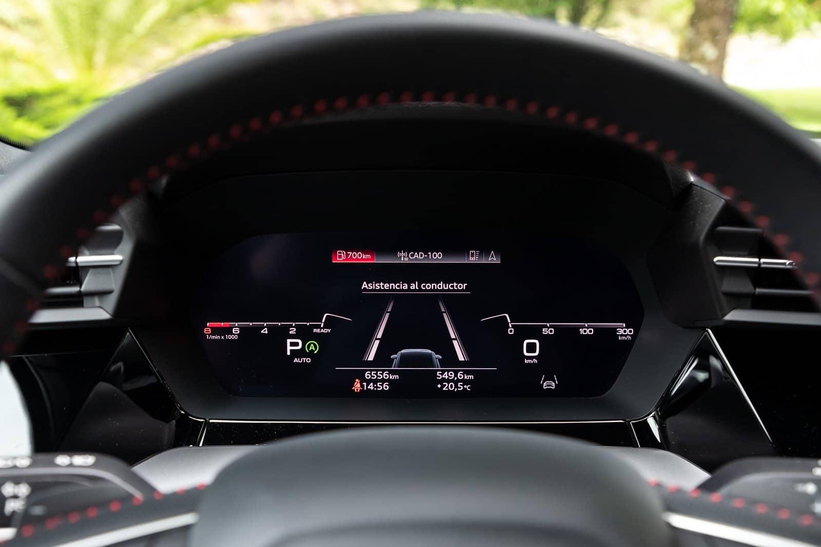 Virtual Cockpit Audi S3 Sportback
