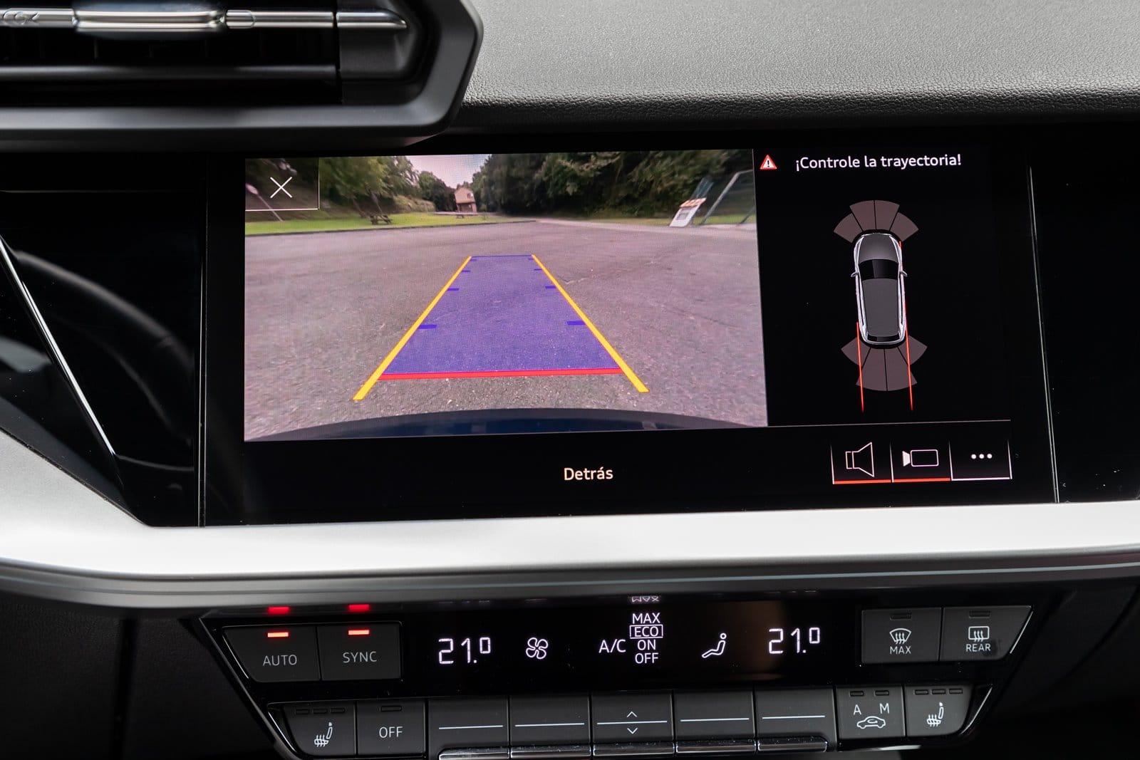 Cámara trasera Audi S3 Sportback