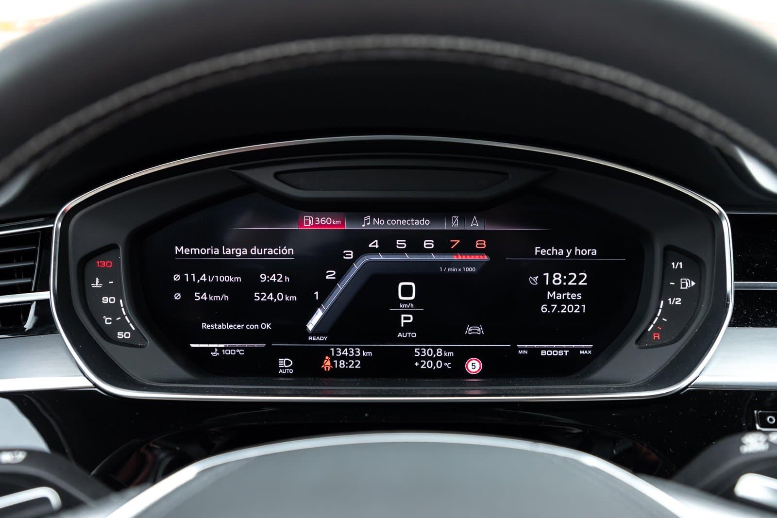 Audi Virtual Cockpit Audi S8